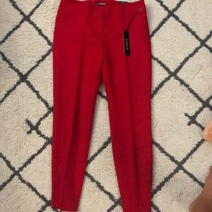NWT- Red Express Ankle Dress Pants